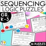 Math Logic and Reasoning Puzzles Gr. 1-3
