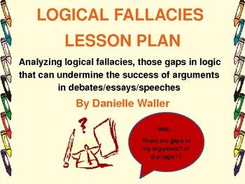 Logical Fallacies Lesson Plan