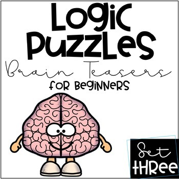 "Logical Reasoning Set 3 ""Brain Teaser"" Puzzles"
