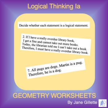 Logical Thinking Ia