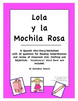 Lola y La Mochila Rosa