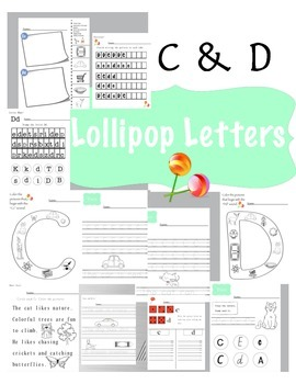 Letters C and D Printables