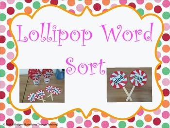 Lollypop word sort