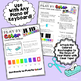 London Bridge ~ Color-Coded Song Sheet ~ Use With Any Pian