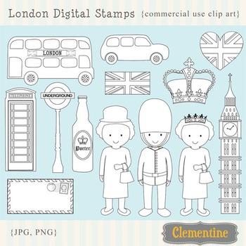 London Digital Stamps