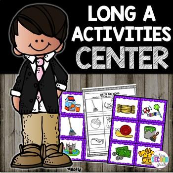 Long A ELA Literacy Center