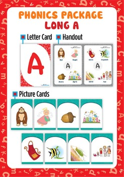 Long 'A' Phonics Resource Package