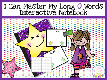 Long O Practice Fluency Data Tracker Interactive Notebook