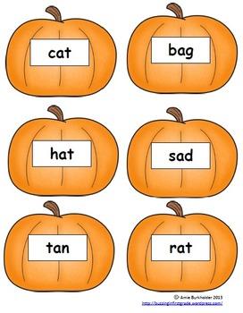 Long A/ Short A Pumpkin Sort