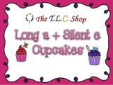 Long A + Silent E Cupcakes - Classroom PowerPoint Game