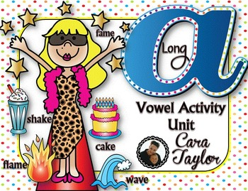 Long A (CVCE) Vowel Activity Unit ~ Magic E / Bossy E