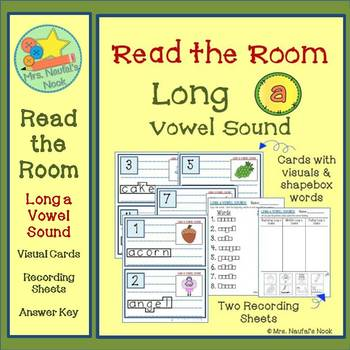 Long A Vowel Sound Read the Room