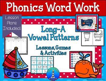 Long-A Word Work: Games & Activities