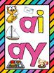 Long A (ai / ay) Phonics Worksheets (No Prep)
