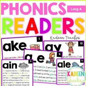 Long A Fluency Readers
