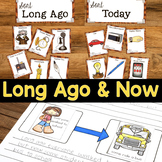 Long Ago & Now / Long Ago and Today {Social Studies Unit}