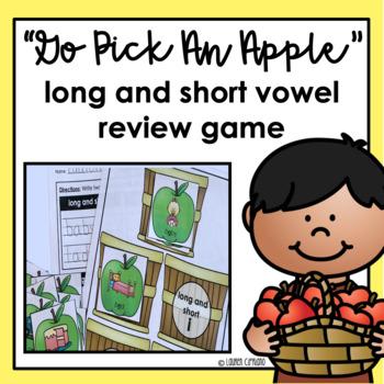 Long And Short Vowel (A, E, I, O, U) Review Game