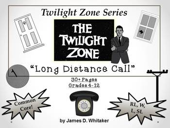 Long Distance Call Twilight Zone Unit Resource Rod Serling