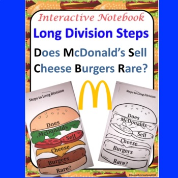 Long Division Does McDonalds Sell Cheese Burgers Rare Inte