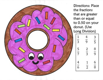Long Division Donut