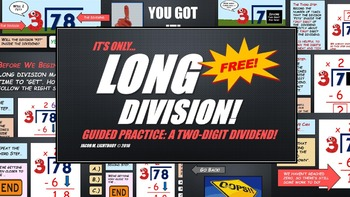 Long Division (FREE Sample)