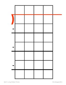 Long Division Frame