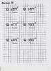 Long Division Grid Worksheets