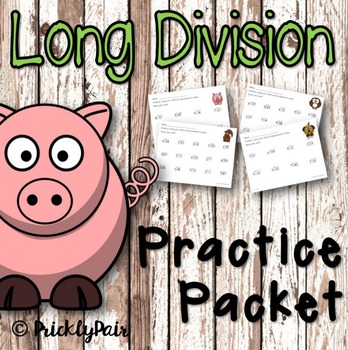 Long Division Math Package