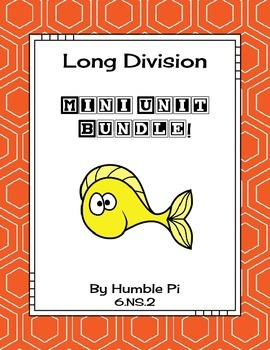 Long Division Mini Bundle-6.NS.2