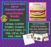 Long Division - Does McDonalds Serve Cheese Burgers? Math