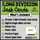 Long Division Task Card Set #3 - w/ unique answer code - 4