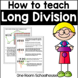 Long Division for Kids Who Can't Multiply