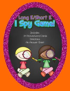 Long E/ Short E I Spy Game