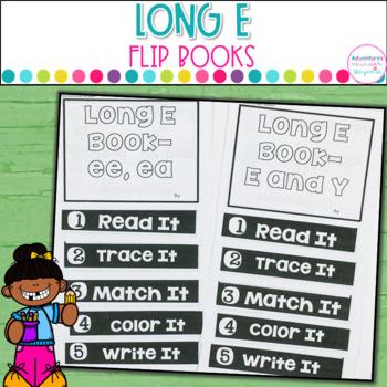 Long E Words- Flip Book