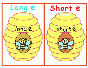 Long E and Short E Sort--Lead the Bee Home