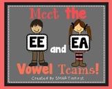 Long EE and EA Word Work Packet