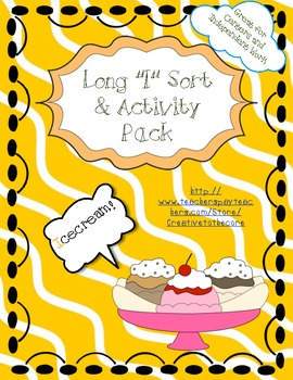 Long I Activity Pack