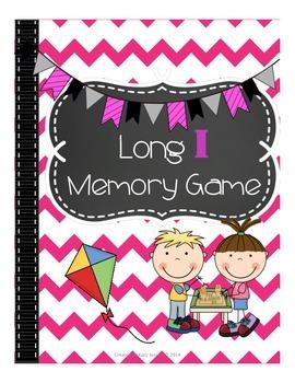 Long I Memory Game