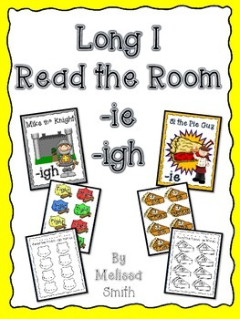 Long I Read the Room Activity Set and Posters