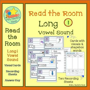Long I Vowel Sound Read the Room