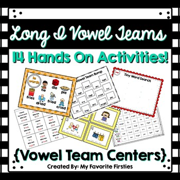 Long I Vowel Team Centers/Word Work