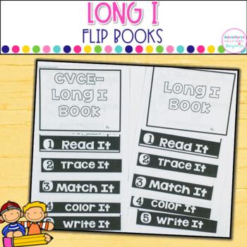 Long I Words- Flip Book