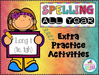 Long I (ie/igh) - Extra Practice Activities