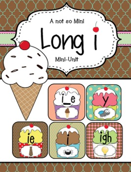 Long I {igh, i, i_e, ie, y}: Word Work, Independent Work,