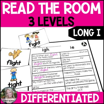 Long I- igh/ie Differentiated Read the Room