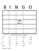 Long Multiplication BINGO