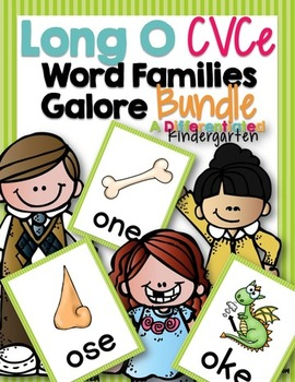 Long O CVCe Word Family Word Work Galore Bundle-Differenti