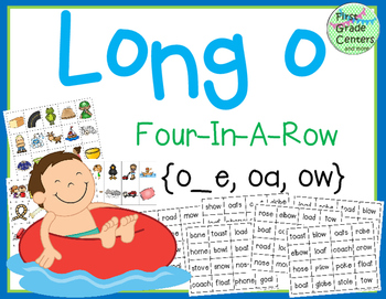 Long O: Four In A Row {o_e, oa, ow}