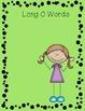 Long O/ Short O Picture Sort File Folder Activity/Literacy Center