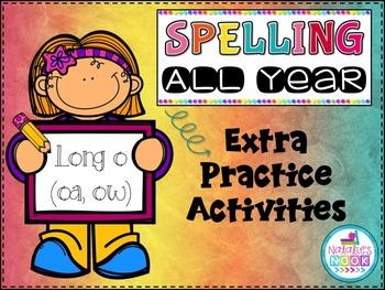 Long O (oa/ow) - Extra Practice Activities